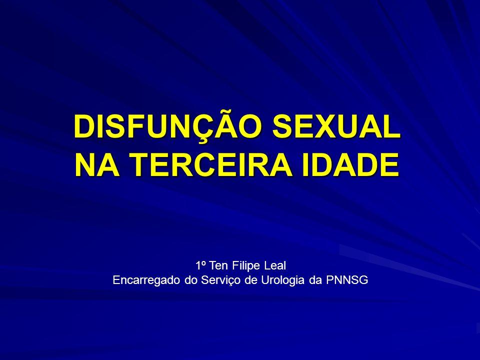 DISFUNÇÃO SEXUAL NA TERCEIRA IDADE