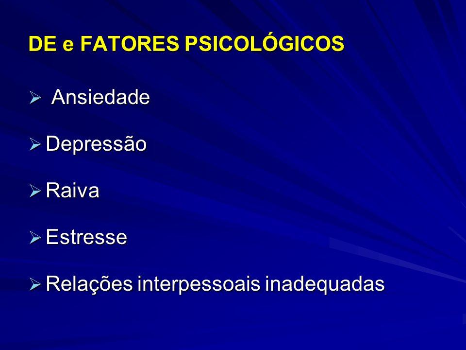 DE e FATORES PSICOLÓGICOS