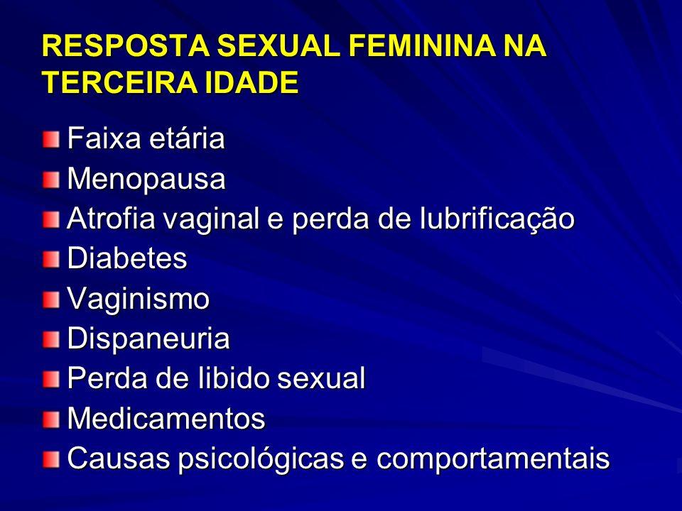 RESPOSTA SEXUAL FEMININA NA TERCEIRA IDADE