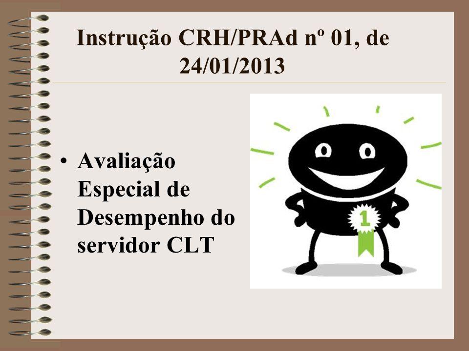 Instrução CRH/PRAd nº 01, de 24/01/2013