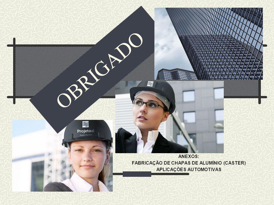 FABRICAÇÃO DE CHAPAS DE ALUMÍNIO (CASTER) APLICAÇÕES AUTOMOTIVAS
