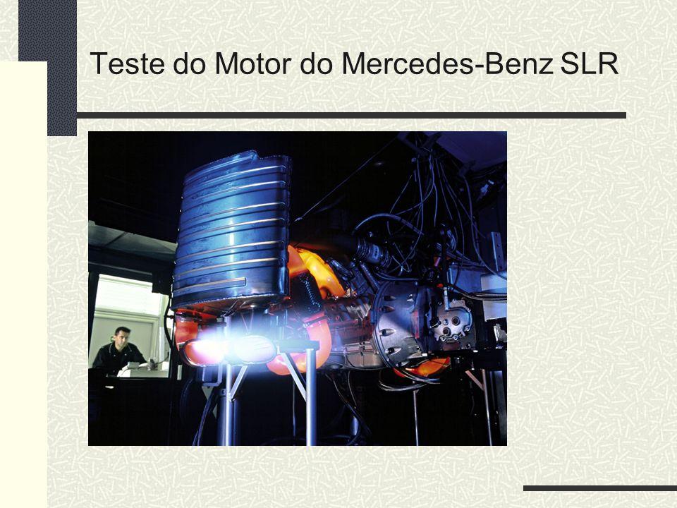 Teste do Motor do Mercedes-Benz SLR