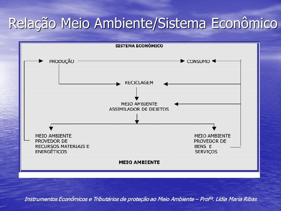 Relação Meio Ambiente/Sistema Econômico