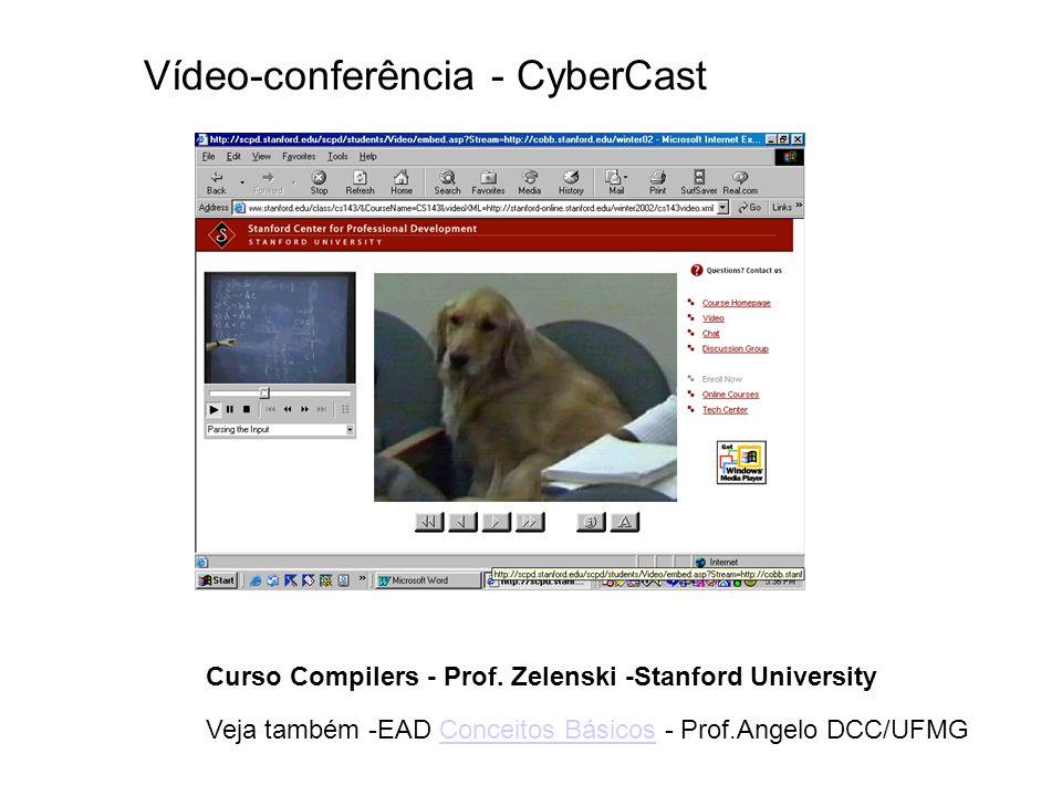 Vídeo-conferência - CyberCast
