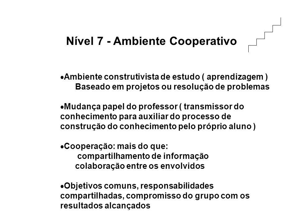 Nível 7 - Ambiente Cooperativo