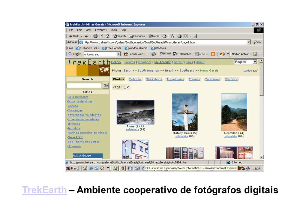 TrekEarth – Ambiente cooperativo de fotógrafos digitais