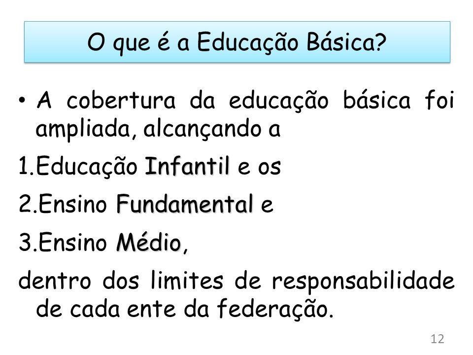 O que é a Educação Básica