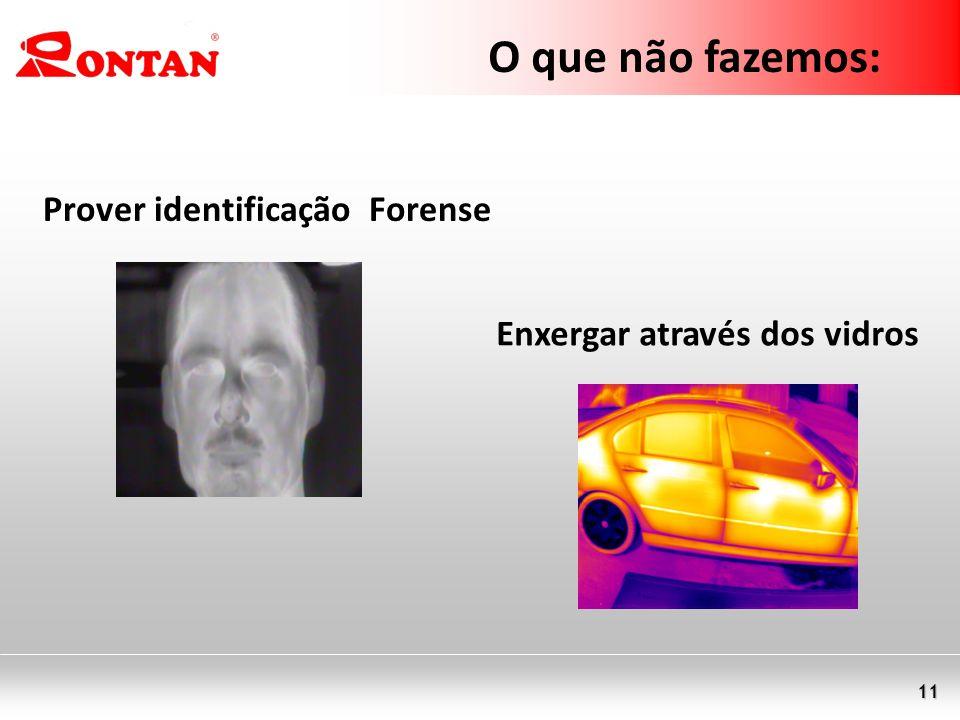O que não fazemos: Prover identificação Forense
