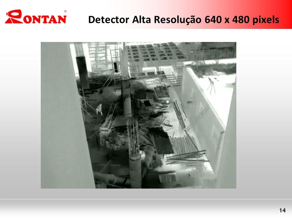Detector Alta Resolução 640 x 480 pixels