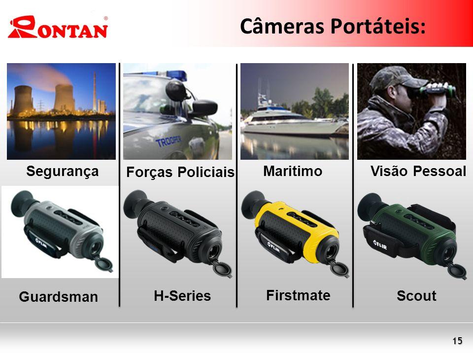 Câmeras Portáteis: Segurança Forças Policiais Maritimo Visão Pessoal