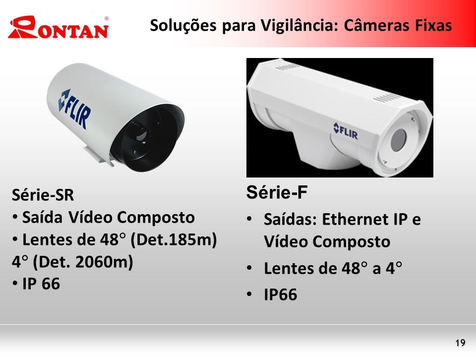 Soluções para Vigilância: Câmeras Fixas