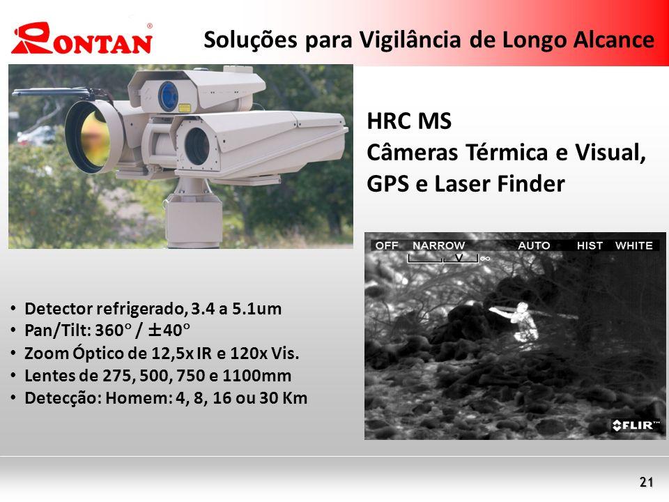 Soluções para Vigilância de Longo Alcance