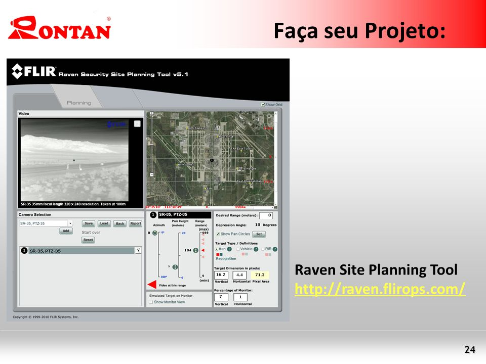 Faça seu Projeto: Raven Site Planning Tool http://raven.flirops.com/