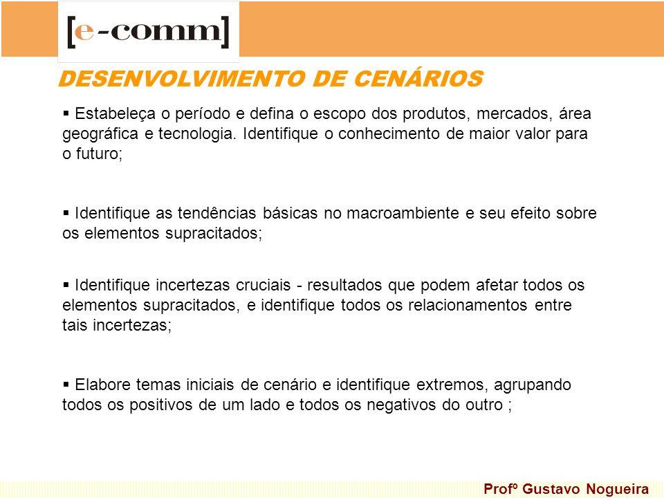DESENVOLVIMENTO DE CENÁRIOS