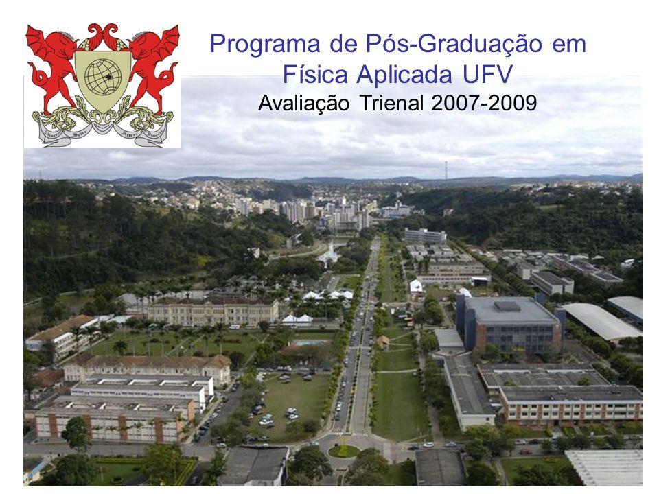 Programa de Pós-Graduação em Física Aplicada UFV