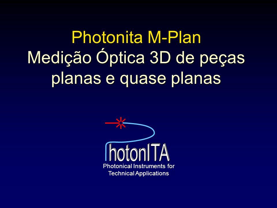 Photonita M-Plan Medição Óptica 3D de peças planas e quase planas