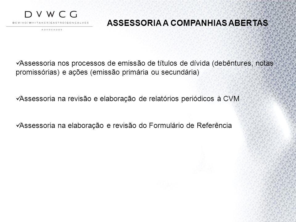 ASSESSORIA A COMPANHIAS ABERTAS