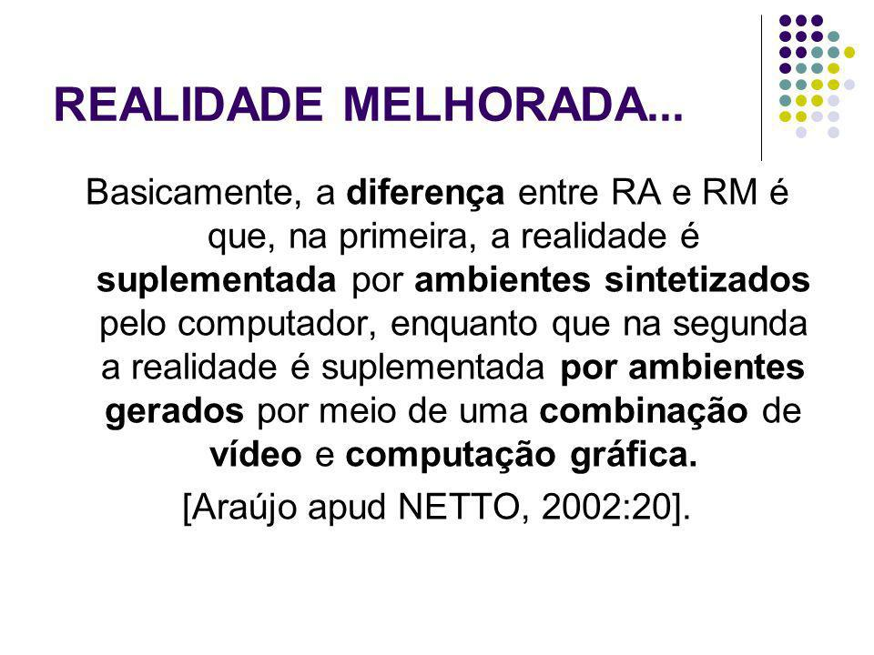 REALIDADE MELHORADA...