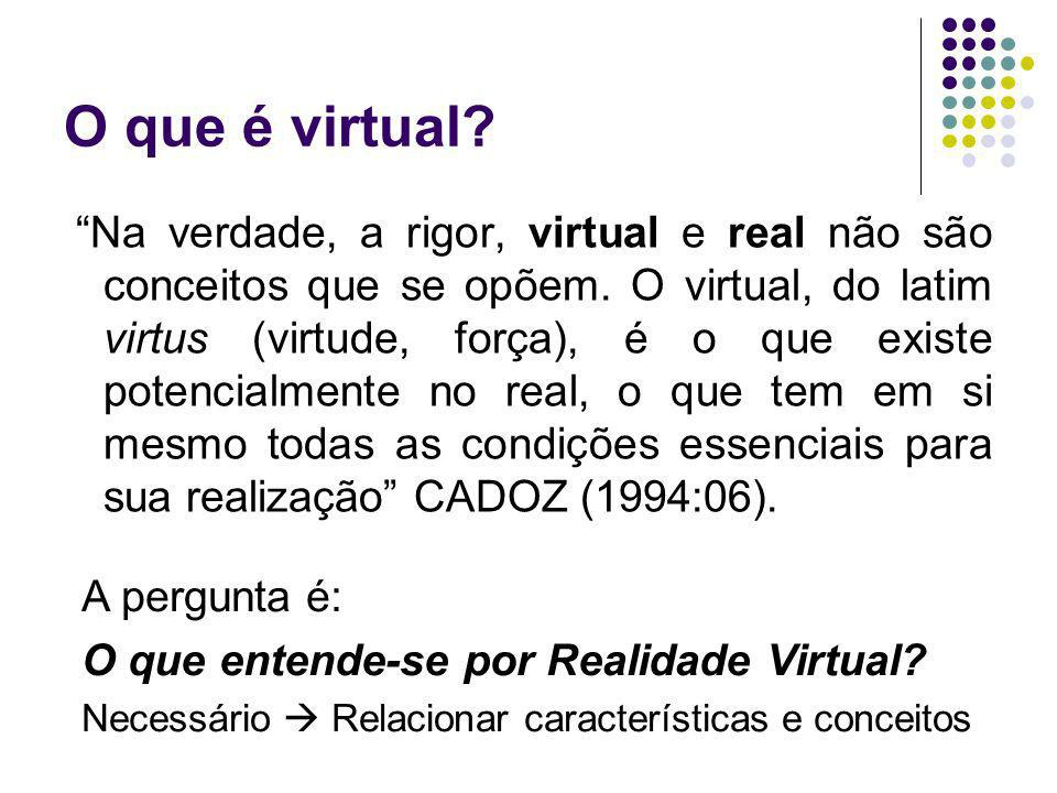 O que é virtual