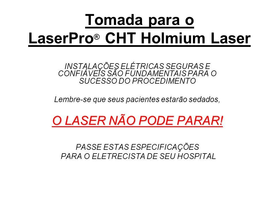 Tomada para o LaserPro® CHT Holmium Laser