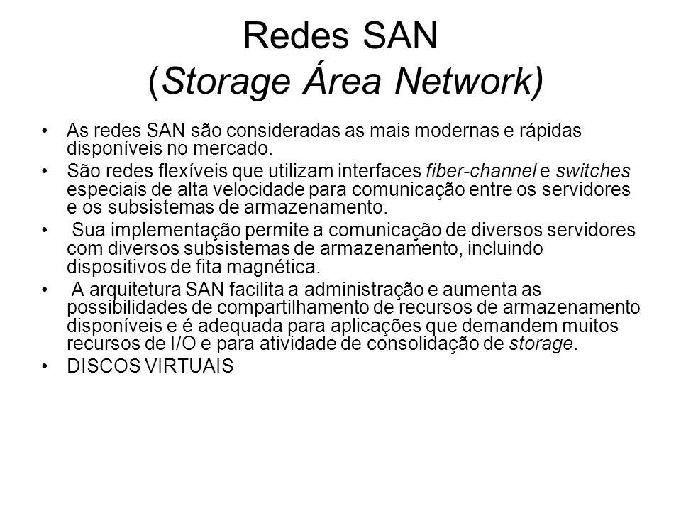 Redes SAN (Storage Área Network)