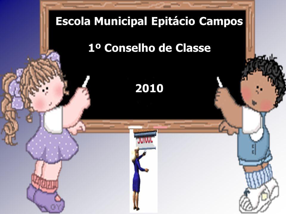 Escola Municipal Epitácio Campos 1º Conselho de Classe