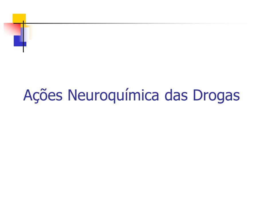 Ações Neuroquímica das Drogas