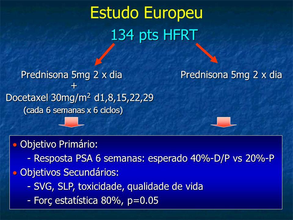 Estudo Europeu 134 pts HFRT