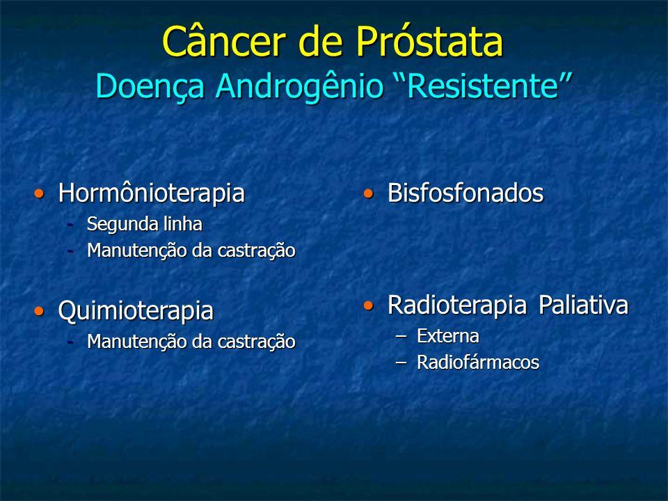 Câncer de Próstata Doença Androgênio Resistente