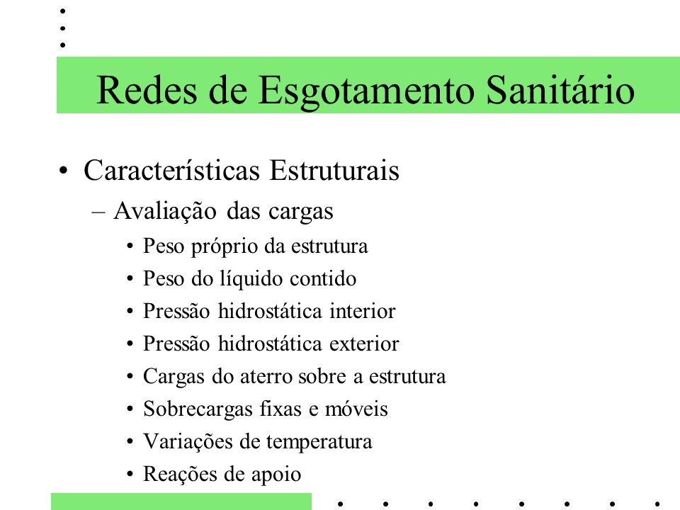 Redes de Esgotamento Sanitário