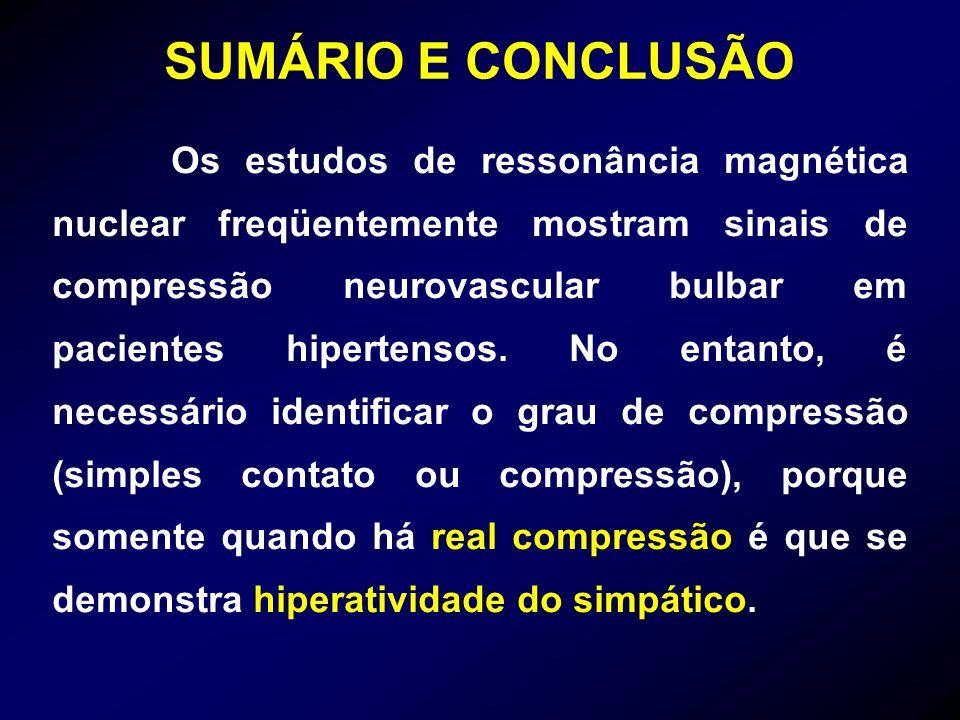 SUMÁRIO E CONCLUSÃO