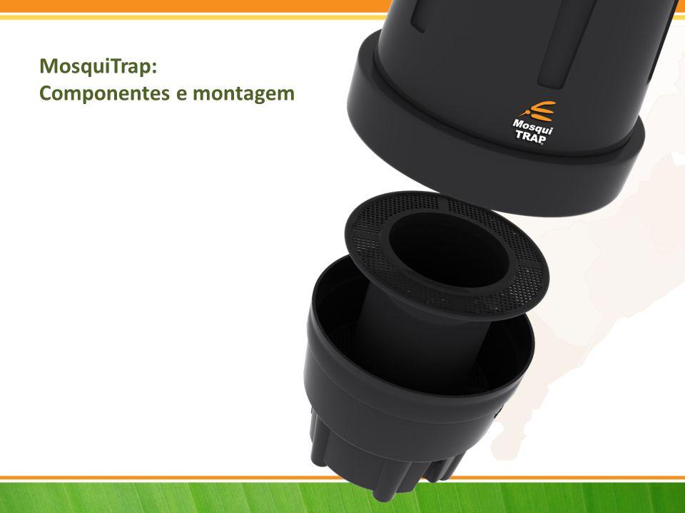 MosquiTrap: Componentes e montagem