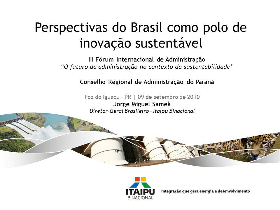 Perspectivas do Brasil como polo de inovação sustentável