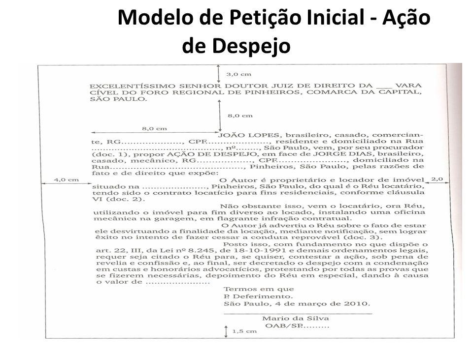 Modelo Ação De Exibição De Documentos Dissertação October