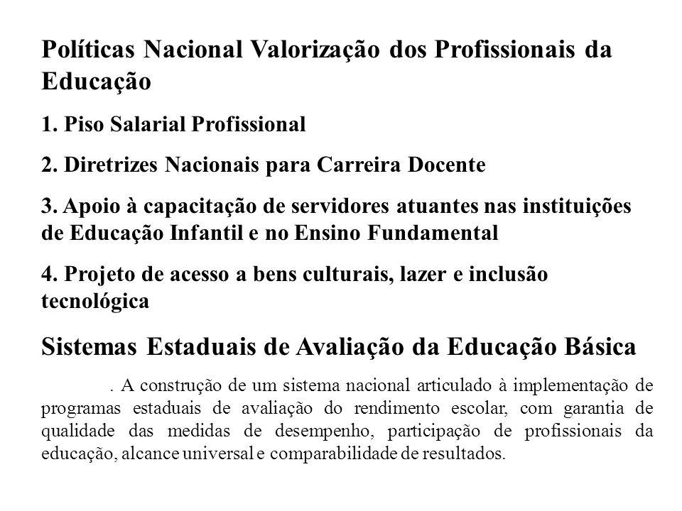 Políticas Nacional Valorização dos Profissionais da Educação