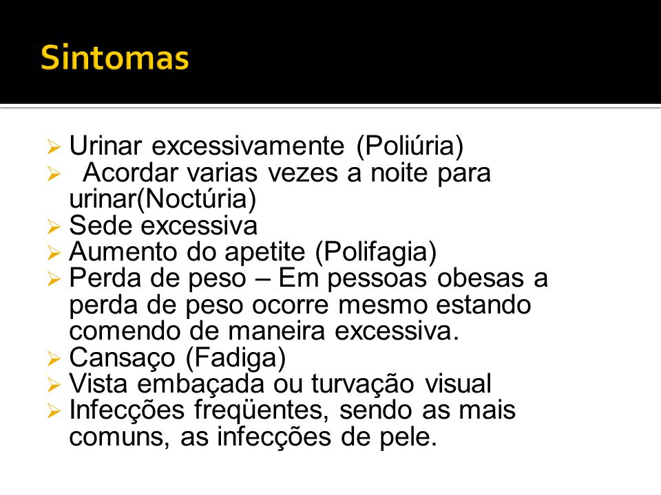 Sintomas Urinar excessivamente (Poliúria)