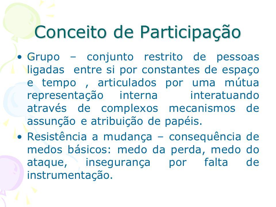 Conceito de Participação