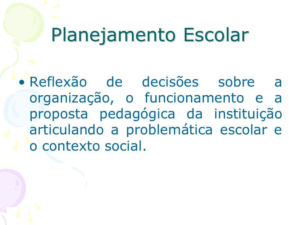 Planejamento Escolar