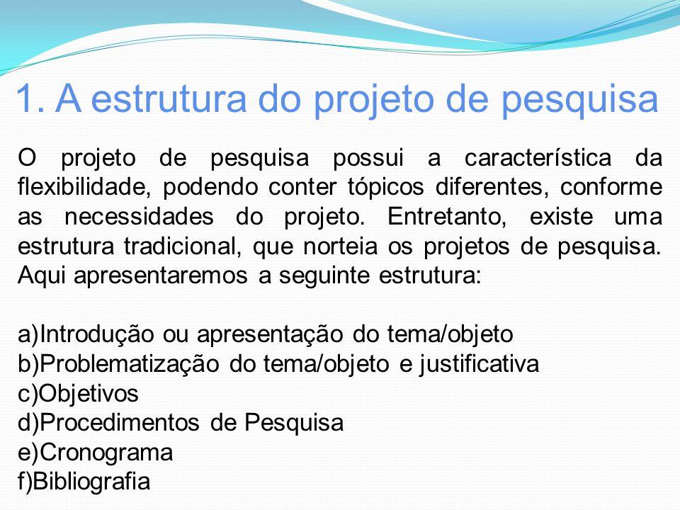 Muitas vezes O Projeto de Pesquisa: Estrutura e conteúdos. - ppt carregar SJ17