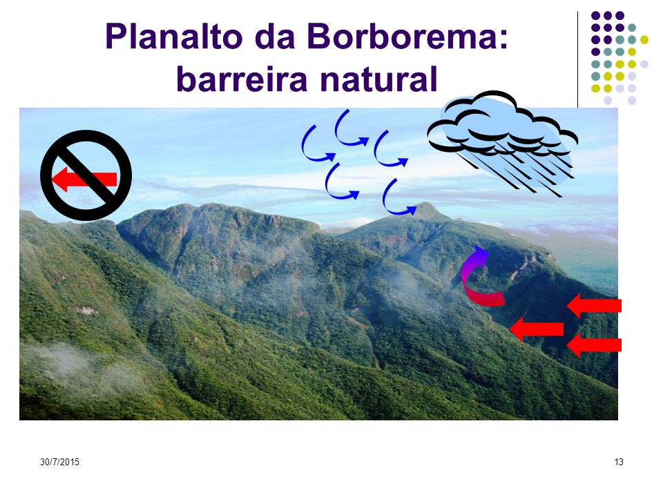 Planalto da Borborema: barreira natural