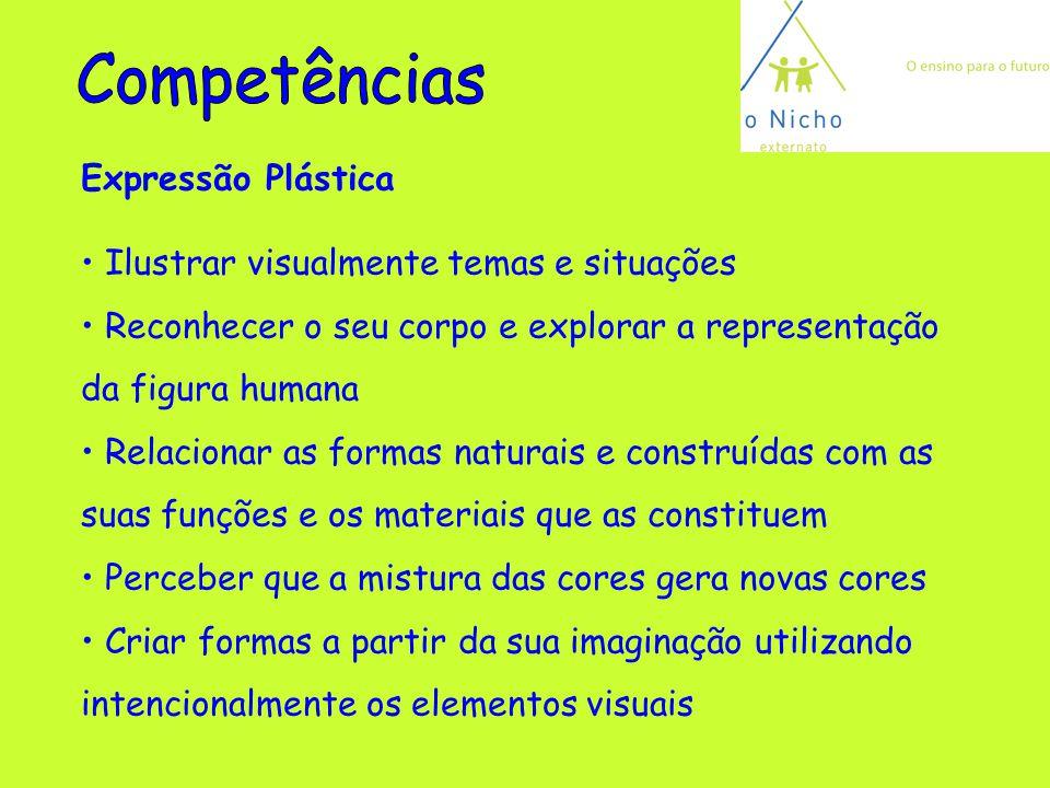 Competências Expressão Plástica