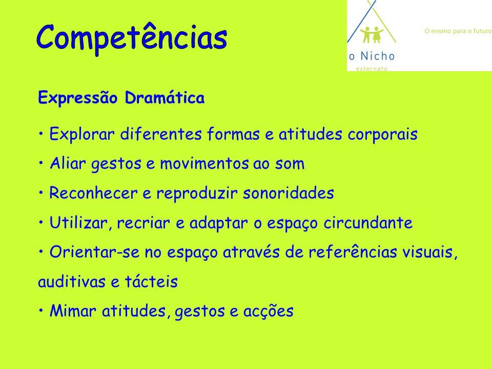 Competências Expressão Dramática