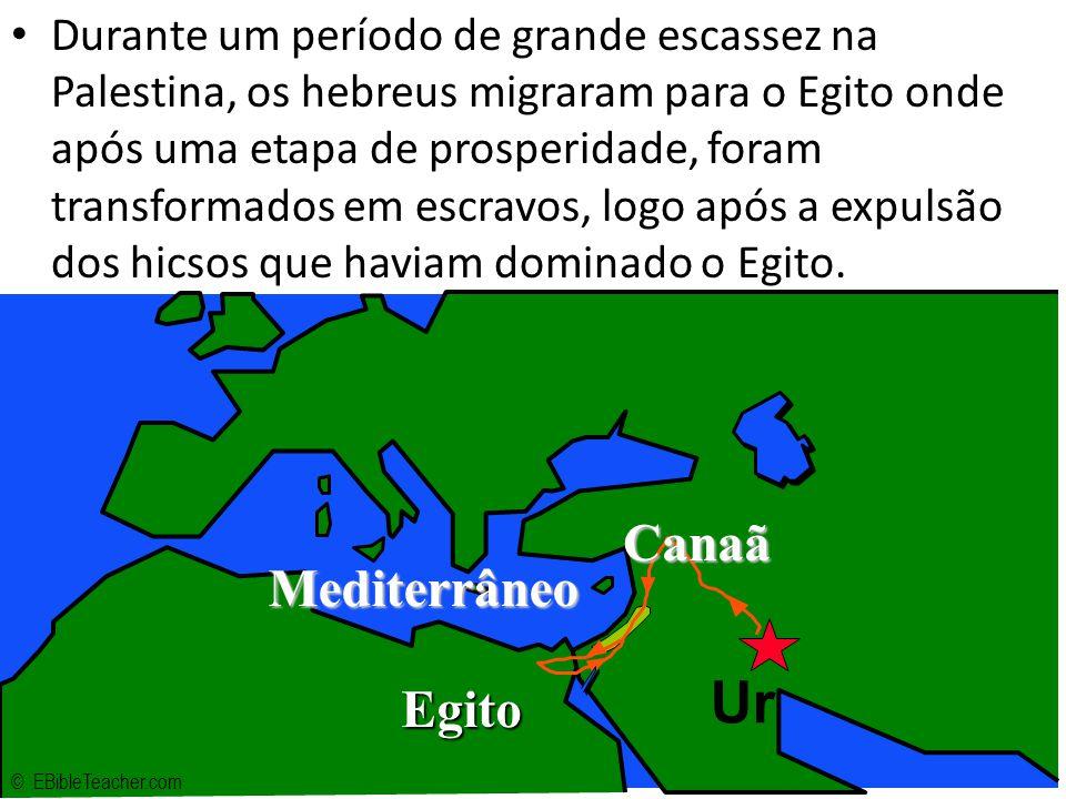 Ur Canaã Mediterrâneo Egito