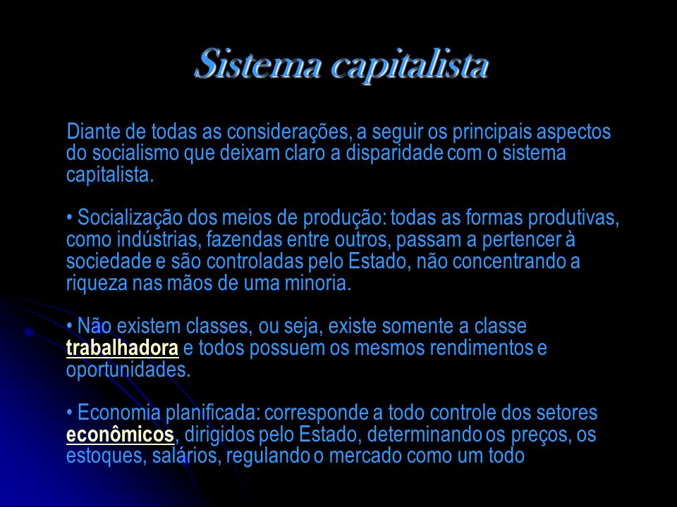Sistema capitalista