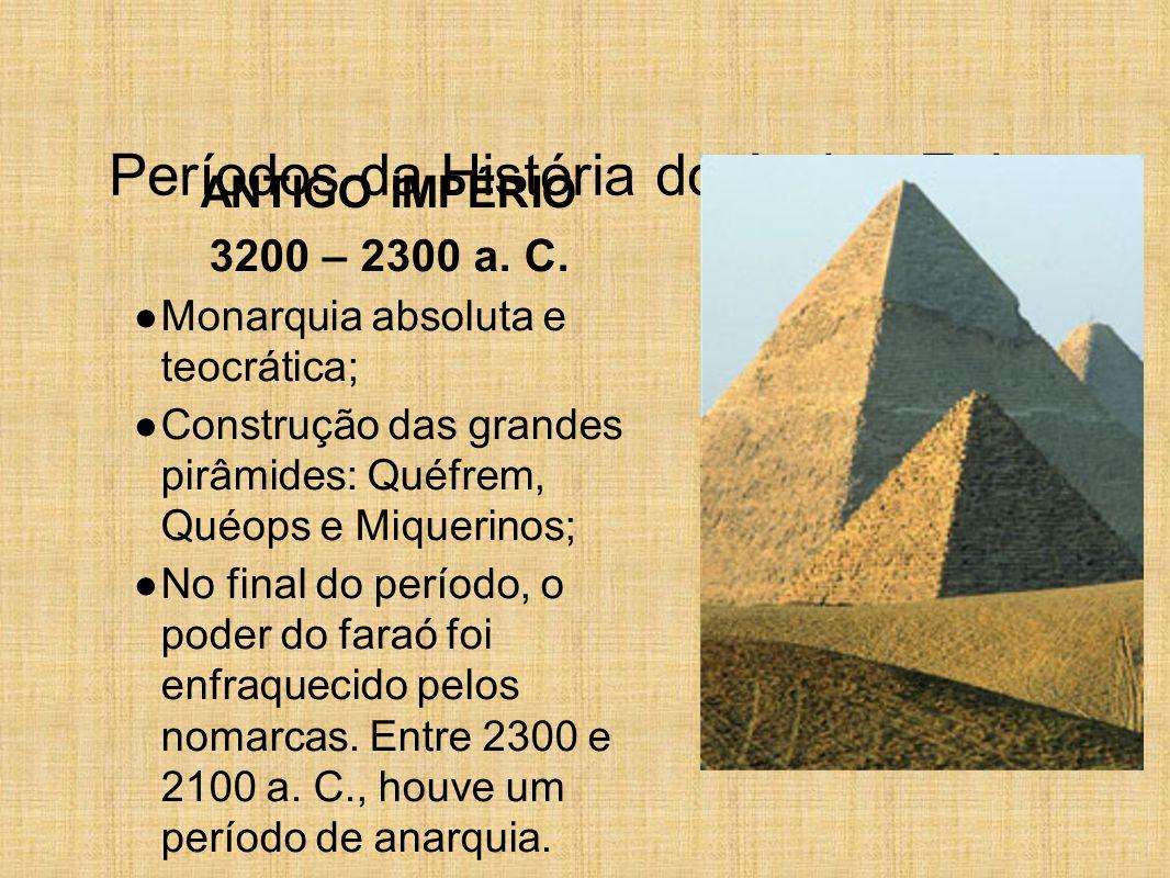 Períodos da História do Antigo Egito