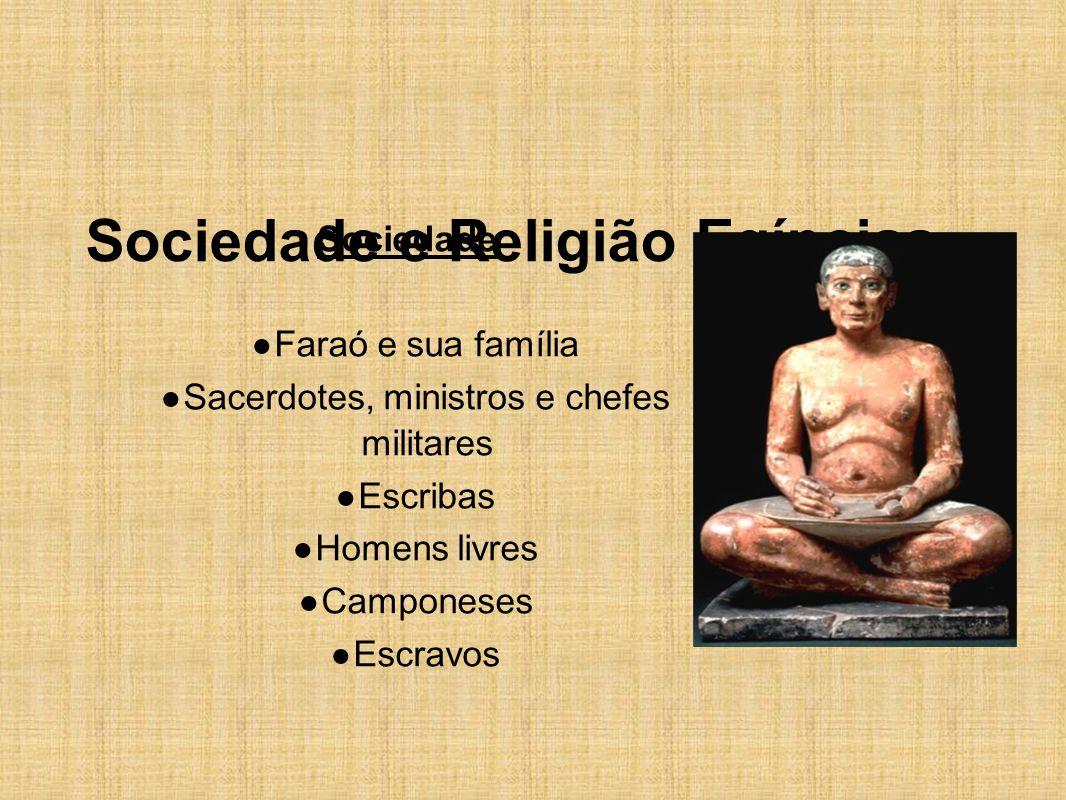 Sociedade e Religião Egípcias