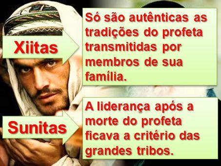 Só são autênticas as tradições do profeta transmitidas por membros de sua família.