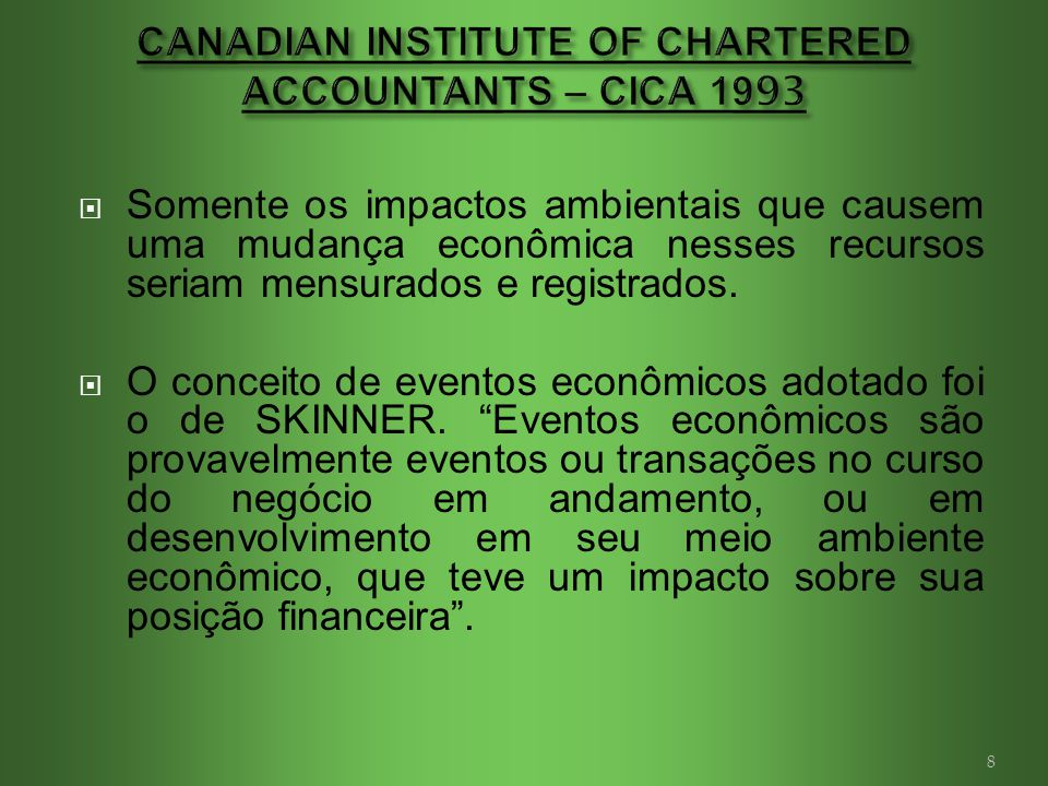 the canadian institute of chartered accountants Sasha carlson is a chartered professional accountant (cpa canada) and is the  executive director at the association of chartered accountants in the us.