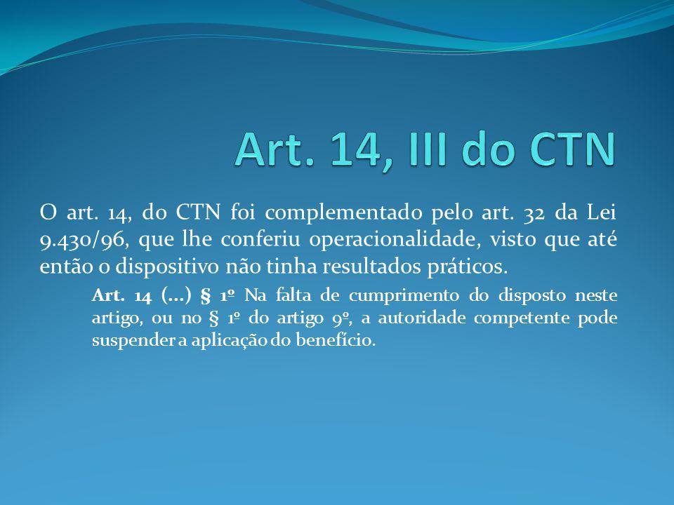 Artigo 156 do ctn