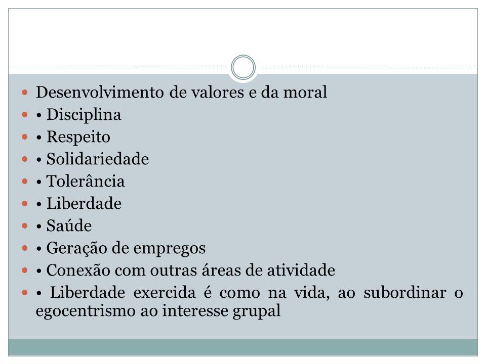 Desenvolvimento de valores e da moral